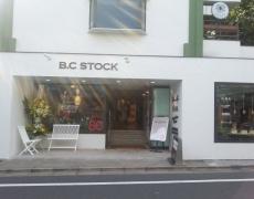 新規お取り扱い店 B.C STOCK 代官山 下北沢 京都店