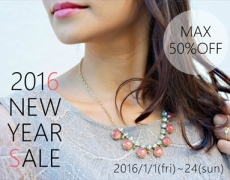 NEW YEAR SALE 2016