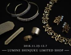 ルミネ新宿店 期間限定SHOPオープンのお知らせ 11/23~12/7