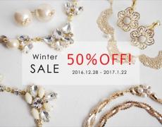WinterスペシャルSALE 50%OFF商品追加のお知らせ