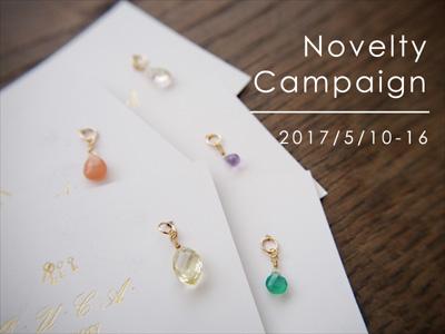 ノベルティーキャンペーン2017.5