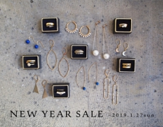 NEW YEAR SALE 2019 第2弾!